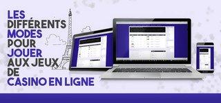 Différents Modes de Jeux en ligne
